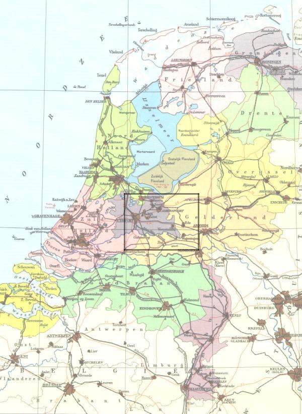 Mobach Echteld Maps Page\: Tiel Netherlands Map At Infoasik.co
